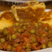 Pea stew - Tocanita de mazare