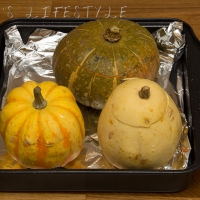 Stuffed mixed squash