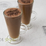 Chocolate and orange smoothie