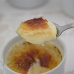 Creme brulee with cardamom