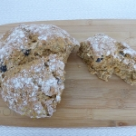 Soda bread with olives and smoked paprika