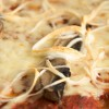 Pizza with chilal cheese