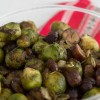 Chestnut and Brussels sprouts