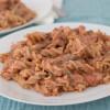 Ricotta and tomatoes pasta