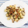 Gnocchi with Spring Garlic and Mushrooms