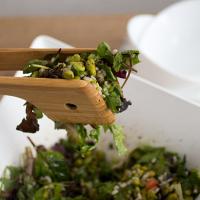 Mediterranean Soya Beans Salad