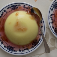 Orange Blossom Semolina Pudding