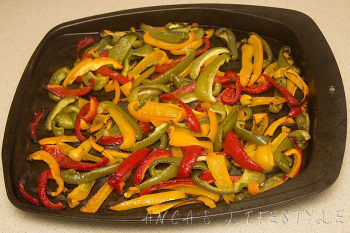 healthy roasted peppers