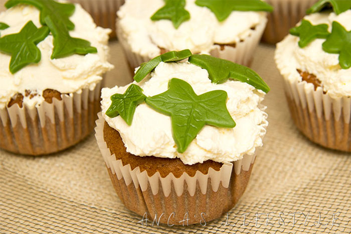 Ivy cupcakes