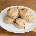 01 Chocolate chips scones