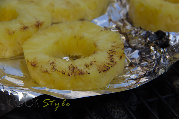 04 Pineapple on the BBQ