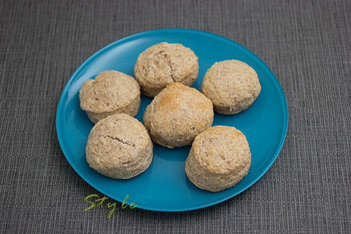 06 Peanut butter gluten free scones