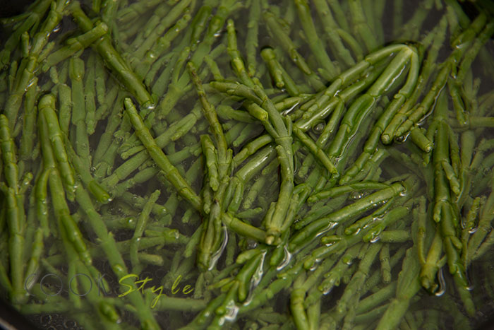 Vegetarian Samphire recipe