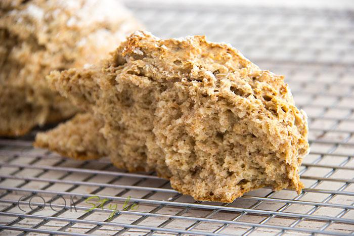 08 Wholemeal oaty soda bread