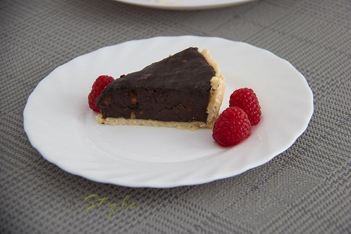 04 Hazelnut chocolate tart
