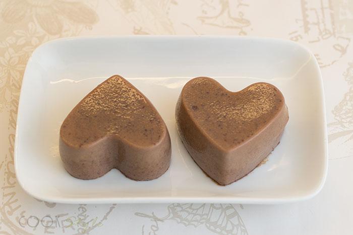 Boozy Panna Cotta with Dark Chocolate