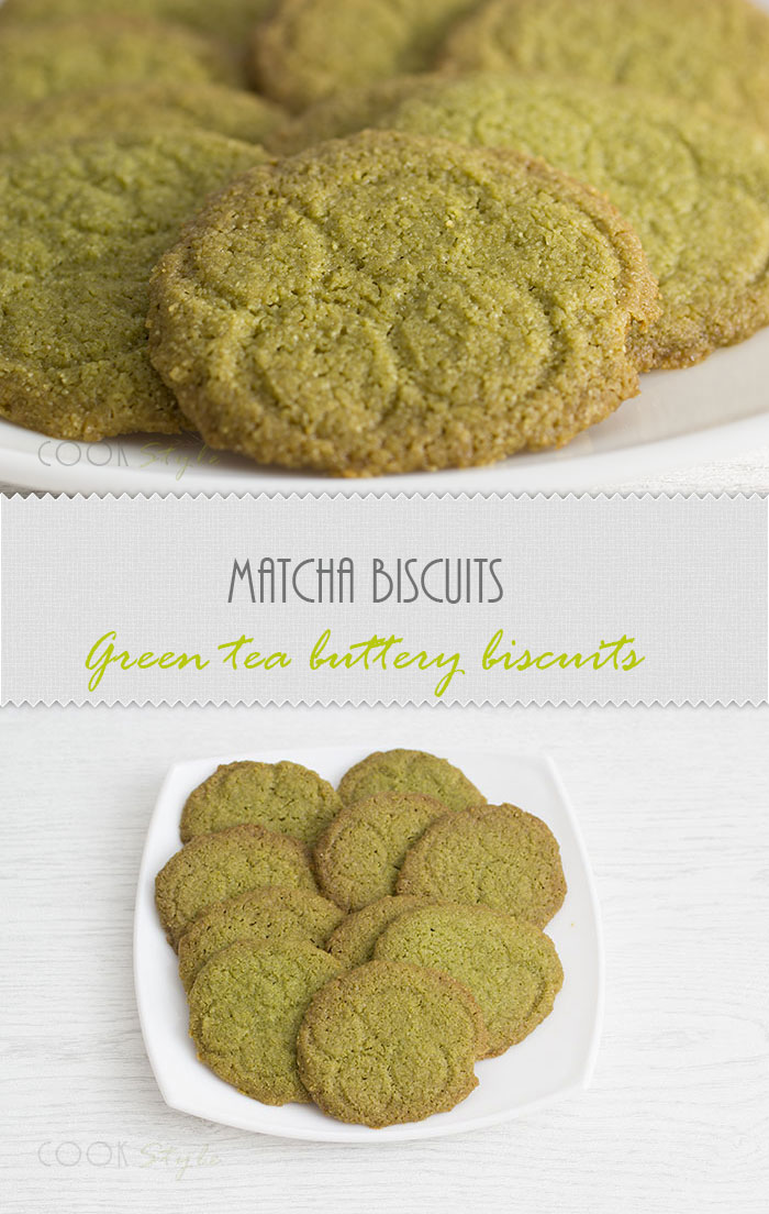 Matcha Biscuits recipe