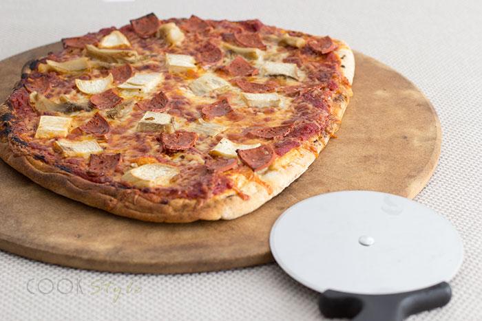 01 Naan pizza