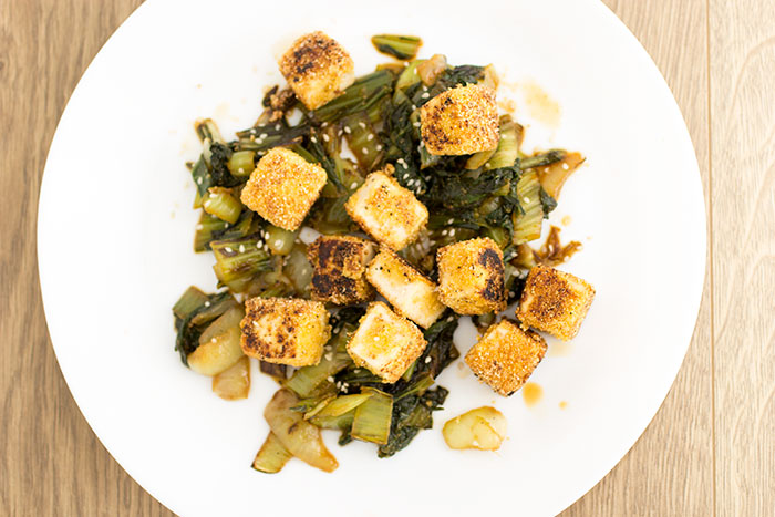 02 Bok Choi with tofu