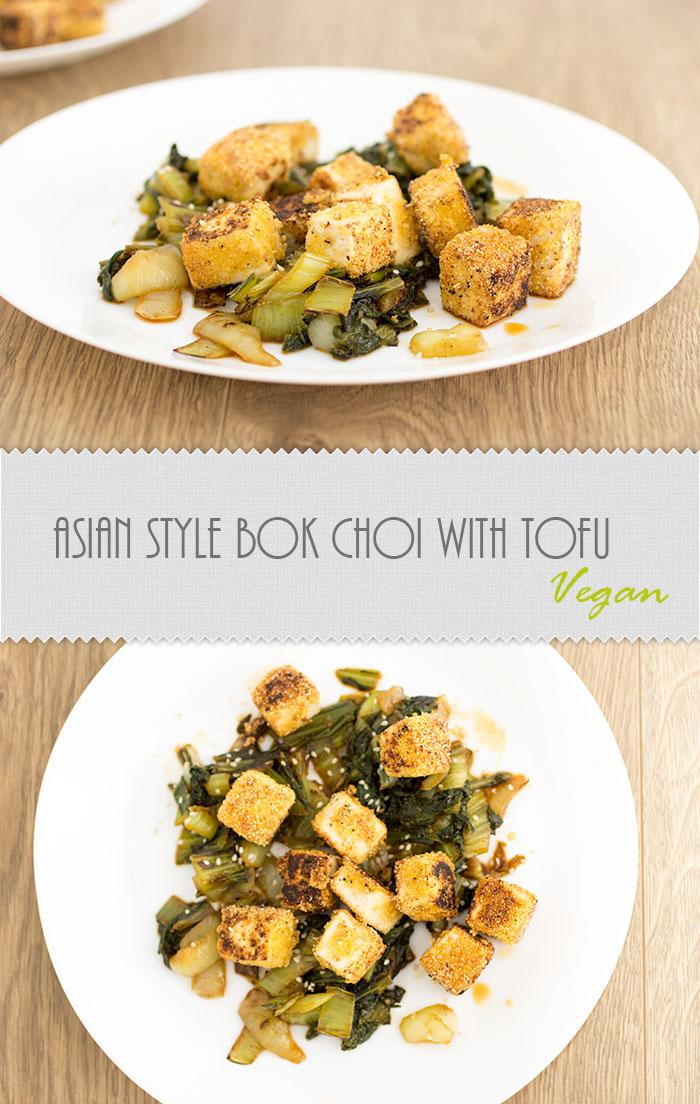 Bok Choi with tofu