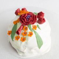 Matcha & Rose Cake