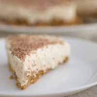 Peanut butter and Baileys cheesecake