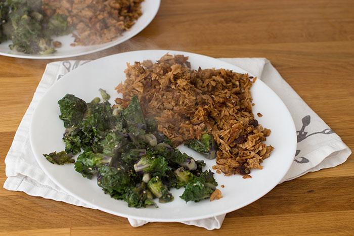 Kalettes side dish