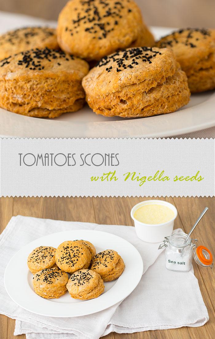Tomato scones