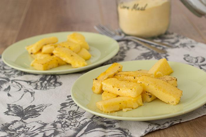 Polenta chips