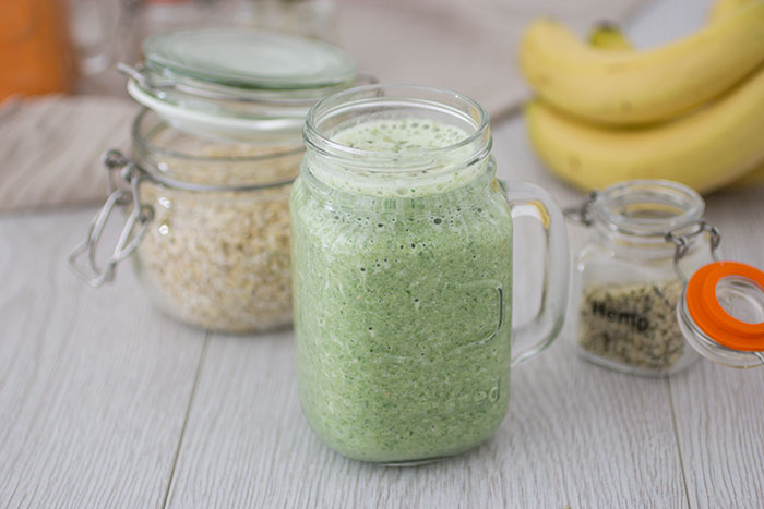 Spinach and banana smoothie recipe