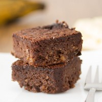 Plantain brownies