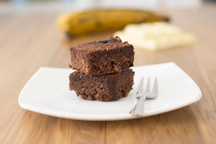 Plantain brownies recipe
