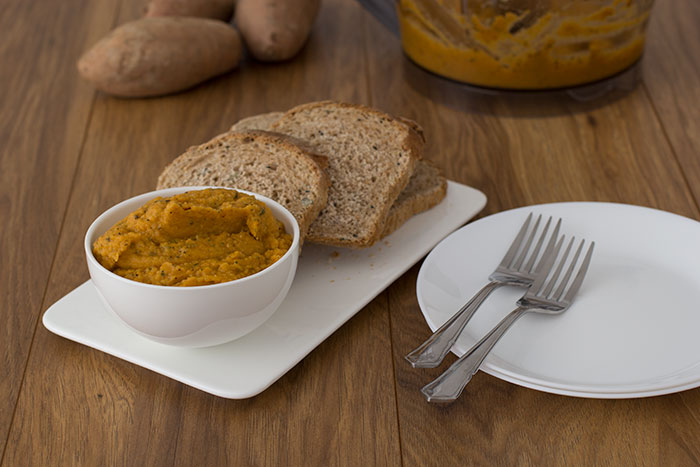 Sweet Potato and Lentil Pate