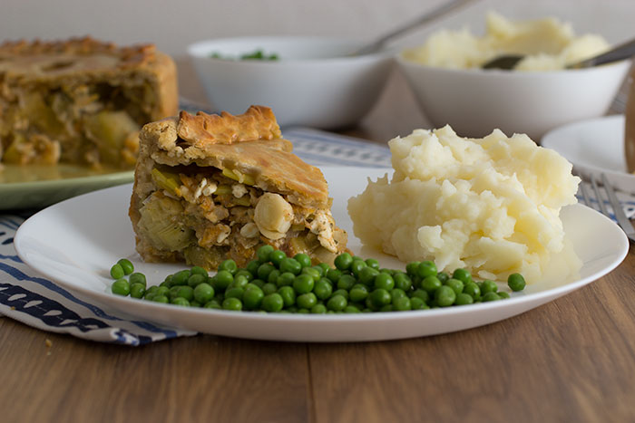 Leek and Potatoes Pie recipe