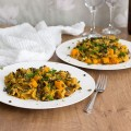 Squash pasta with squash cooked two ways
