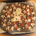 Halloween Black Pizza