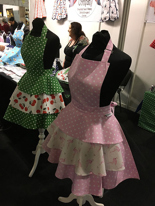 Aprons at Cake and Bake Show