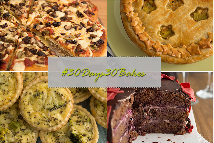 4 bakes to show the #30Days30Bakes