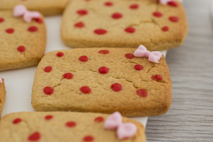 Valentine's Day Biscuits. Gift