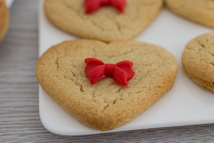 Valentine's Day Biscuits. Heart