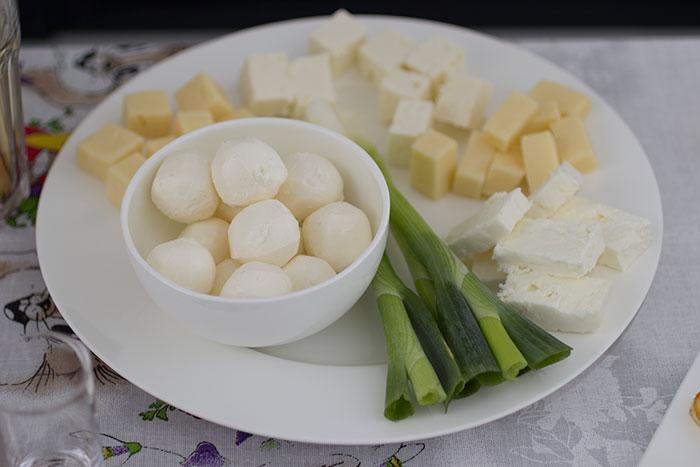 Easter menu cheese