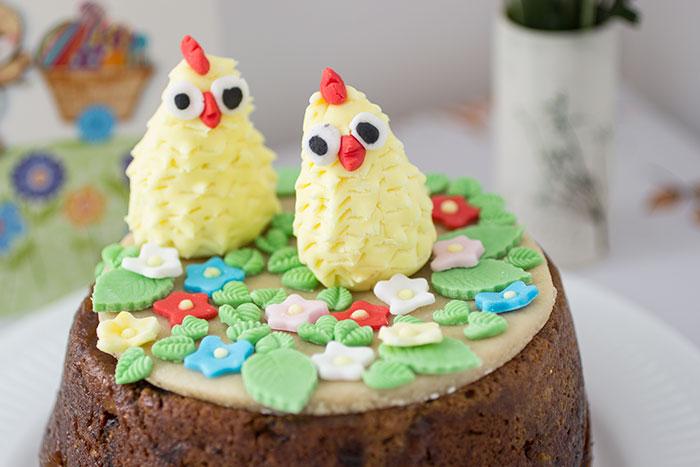 Easter menu - Simnel cake