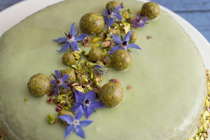 Le Gâteau Vert-Vert. Decorations