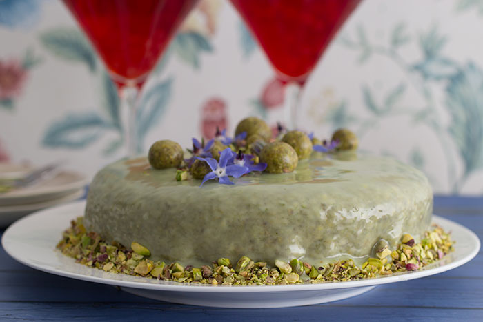 Le Gâteau Vert-Vert. Monet's favourite birthday cake