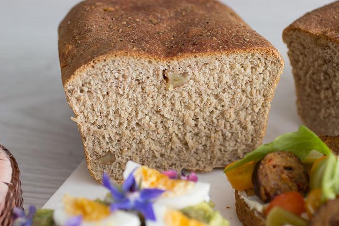 Rye bread for Smørrebrød