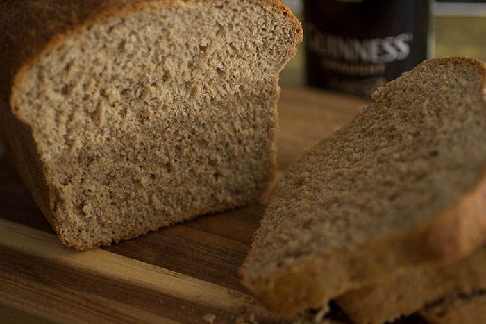 Guinness Bread, close up