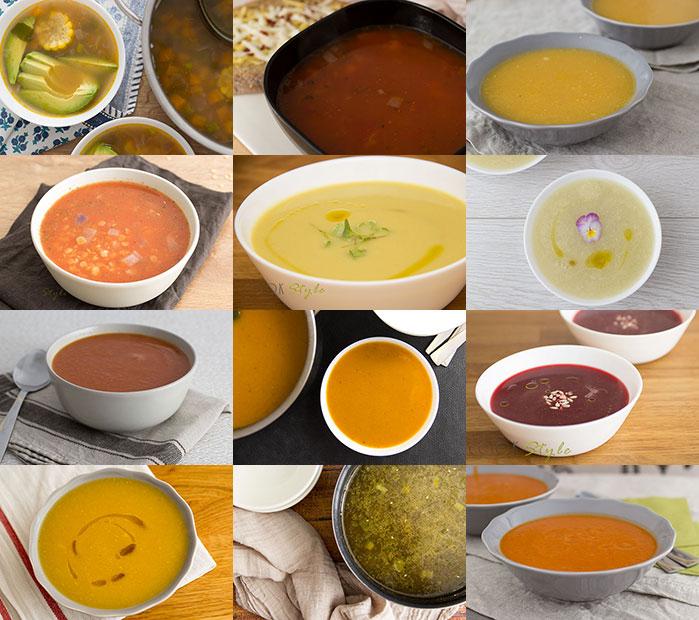 Vegan Soups round-up