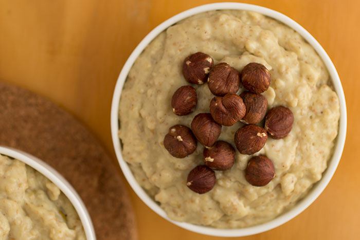 Nutty Caramel Porridge