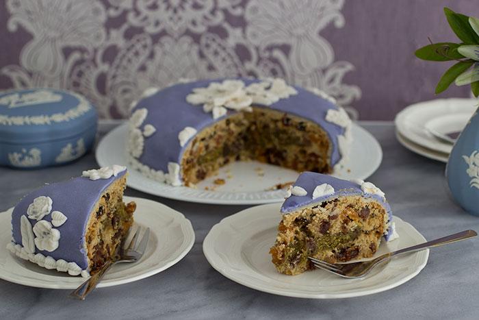 Wedgwood Cake. How it looks inside