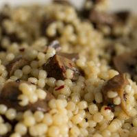 Mushrooms Couscous